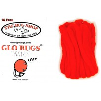Glo Bug Yarn 15ft Flame Colour