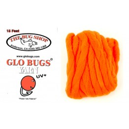 Glo Bug Yarn 15ft Alaskan Roe Colour