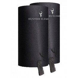 Hunters Element Gravel Guard Gaiters - Zips - Black