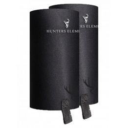 Hunters Element Gravel Guard Gaiters - No Zips - Black