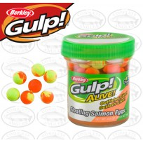 Berkley Gulp Alive Salmon Eggs Fluorescent Orange Softbait