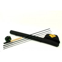 Echo Base Fly Rod Kit: #8 9' 4 pc Med/Fast Fly Set