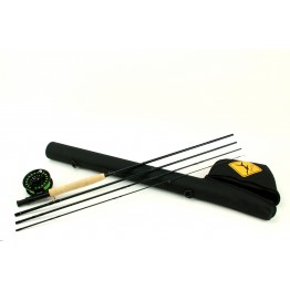 Echo Base Fly Rod Kit: #5 9' 4 pc Med/Fast