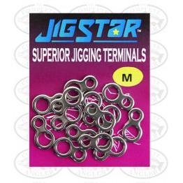 """Jig Star """"8"""" Solid Ring Med"""