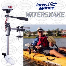 "Jarvis Marine Watersnake ASP T18 - 18LB - 24"" 12 Volt Electric Motor with Kayak Mount"