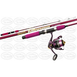 Jarvis Walker Minnow 3'6 Wharf Rod And Reel Combo