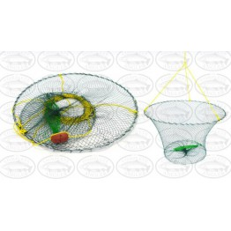 Kilwell Crab Trap 2 Ring - Pull Pot with Rope