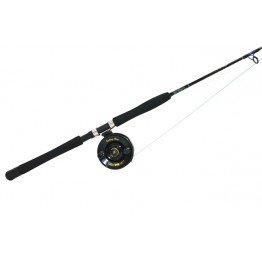 Kilwell Trout Harling Set Rod Alvey Reel 30yd Lead