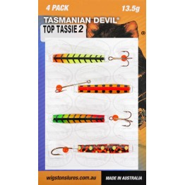 Tasmanian Devil Top Tassies #2 - 4 Lures