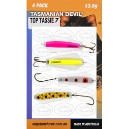 Tasmanian Devil Top Tassie #7 - 4 Pack
