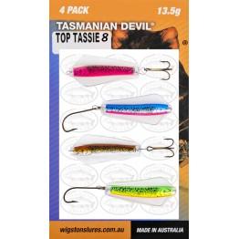 Tasmanian Devil Top Tassie #8 - 4 Pack
