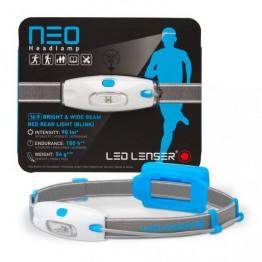 LED Lenser Neo Headlamp 90 Lumens - Blue