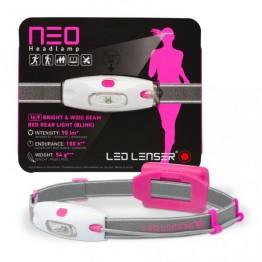 LED Lenser Neo Headlamp 90 Lumens - Pink
