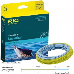 Rio Leviathan Saltwater 26' Sink Tip 500gr WF12F/S Fly Line