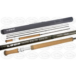 Loop Evotech Double Handed Fly Rod 12' #8 Medium - Fast Action