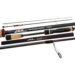 "Lox Ambassador 75MHT 7'5"" 2 Pieces 3-7kg Spin Rod"