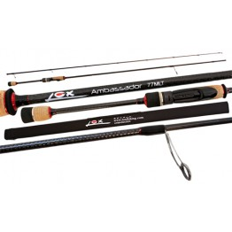 "Lox Ambassador 7'7"" MLT 2 Piece Soft Bait or Spin Rod"