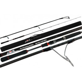 "Lox Ambassador Jig Spin 6511SG 6'5"" PE 1-2 Spin Configuration Rod"