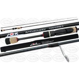 "Lox Hybrid Ambassador 63ULS Rod 6'3"" 2 Piece1- 2kg Spin Rod"