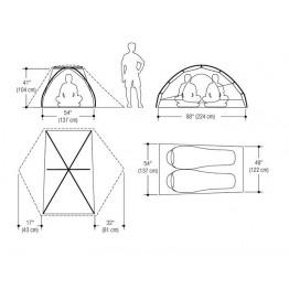 Marmot Tungsten 2 Person Adventure Tent