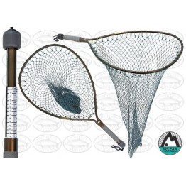 Mclean Weigh Net Short Handle Large Hoop Landing Net