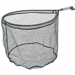 McLean Short Handle Weigh Net - Rubber Mesh