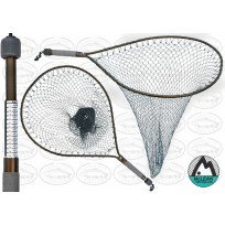 Mclean Weigh Net Short Handle XL Hoop Landing Net #110