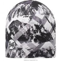 Buff Microfibre/Polar Fleece Beanie Hat - Mountain Top
