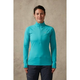RAB Flux Pull On Women's Mid Layer - Seaglass