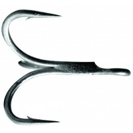 Mustad Dura Steel 36330NP-DS 4X Treble Hook