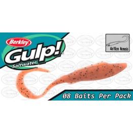 "Berkley Gulp Nemesis 4"" Pumpkin Seed Softbait"