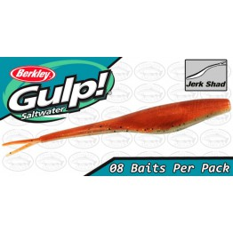 "Berkley Gulp Saltwater Jerk Shad 7"" New Penny Softbait"