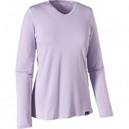 Patagonia Women's Capilene Daily Long Sleeve Baselayer Top - Lite Purple