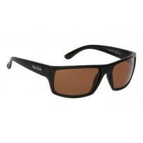 Ugly Fish Matte Black Frame Brown - Polarised Sunglasses