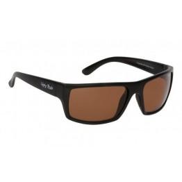 Ugly Fish Matte Black Frame Brown - Polarised Sunglasses