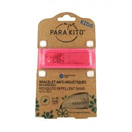 Parakito Kid's Mosquito Wristband - Pink Octopus