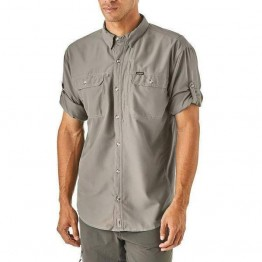 Patagonia Men's Sol Patrol II Long Sleeve Shirt - Drifter Grey