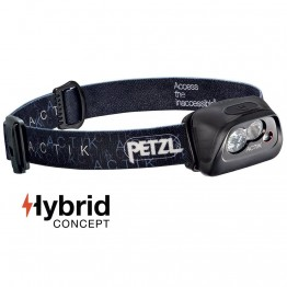 Petzl Actik 300 Lumens Headlamp - Black