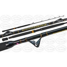 "Penn Bluewater Carnage 5'7"" 1 Piece 24kg Game Rod Roller Tip Game Rod"