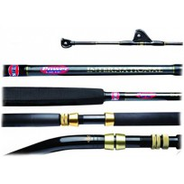 "Penn Powercurve International Game 5'5"" 2 Piece 37kg Bent Butt Rod"