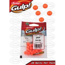 Berkley Gulp Salmon Eggs Fluorescent Orange - Packet
