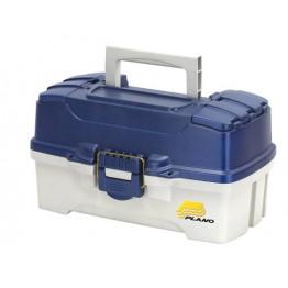 Plano 2 Tray Tackle Box - Blue