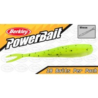 "Berkley Powerbait Minnow 2"" Chartreuse Softbait"