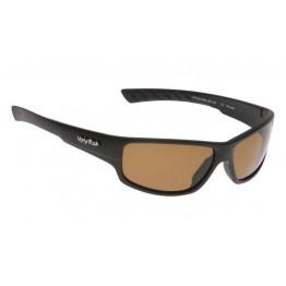 Ugly Fish Matte Black Frame Sunglasses - Brown Polarised Anti Reflective Lens