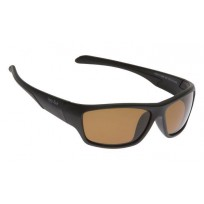 Ugly Fish Matte Black Frame Brown Polarised Sunglasses