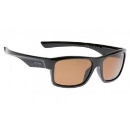 Ugly Fish Shiny Black Frame - Brown Polarised Sunglasses