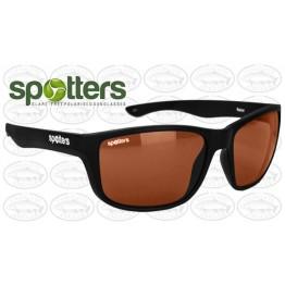 "Spotters ""Rebel"" Black Gloss Sunglasses & Polarised Photocromatic Penetrator Lens"