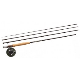 Redington Path 590-4 9 Foot 4 Piece #5 Fly Rod Reel & Line Set