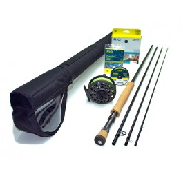 Redington Path 890-4 Set #8 Weight 9 Foot 4Pce Fly Rod Reel & Line