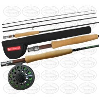 Redington Path 690-4 9 Foot 4 Piece #6 Fly Rod Reel & Line Set